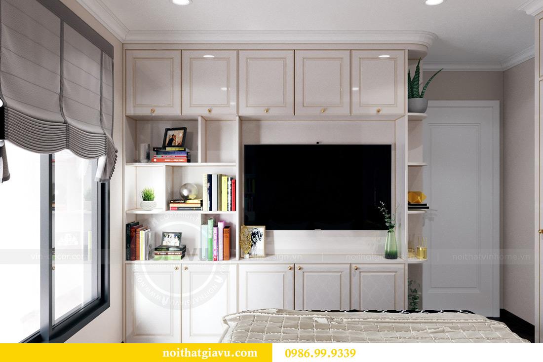 Thiết kế nội thất căn hộ chung cư Lương Yên tòa T2 căn 10 - Anh Nam 12