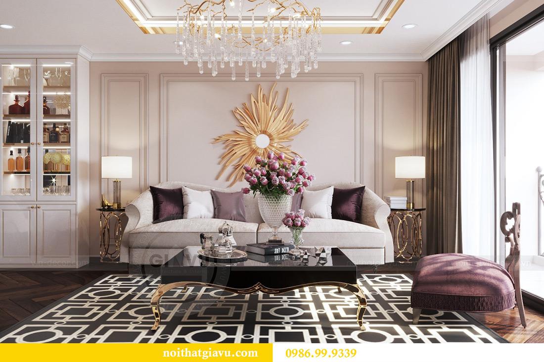 Thiết kế nội thất căn hộ chung cư Lương Yên tòa T2 căn 10 - Anh Nam 2
