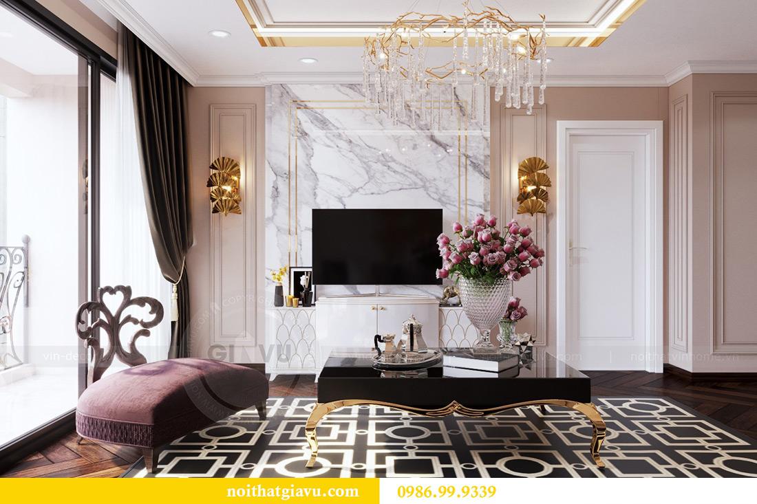Thiết kế nội thất căn hộ chung cư Lương Yên tòa T2 căn 10 - Anh Nam 3