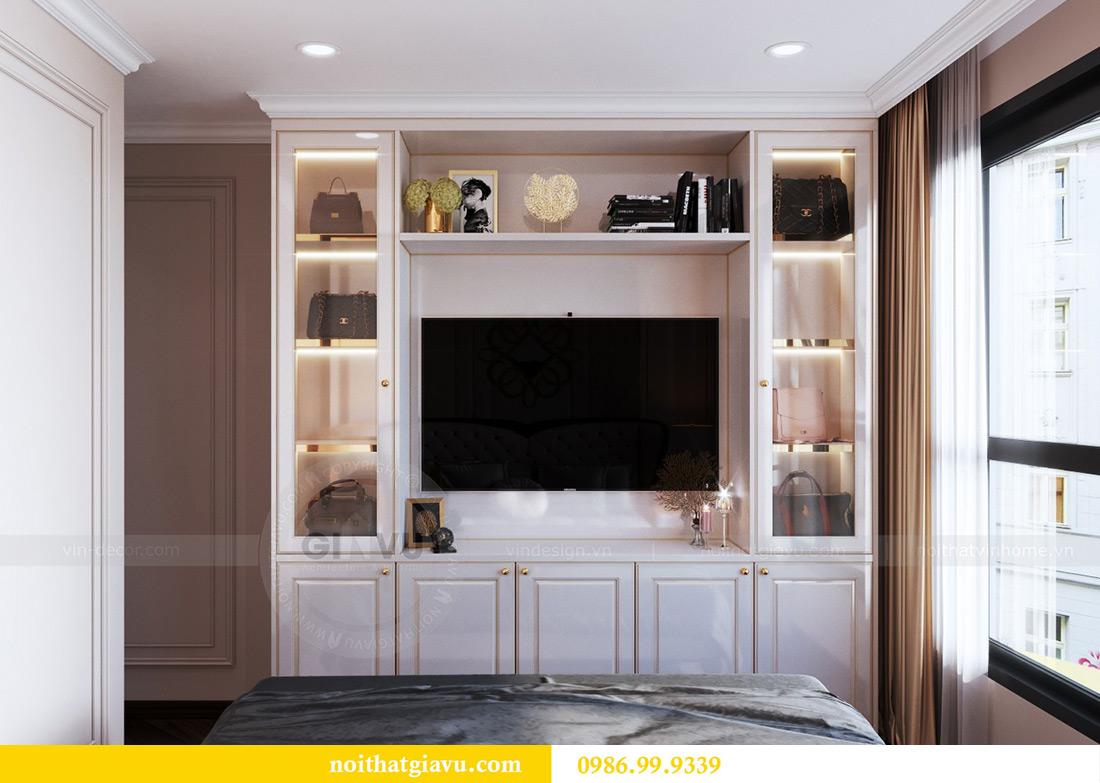 Thiết kế nội thất căn hộ chung cư Lương Yên tòa T2 căn 10 - Anh Nam 9