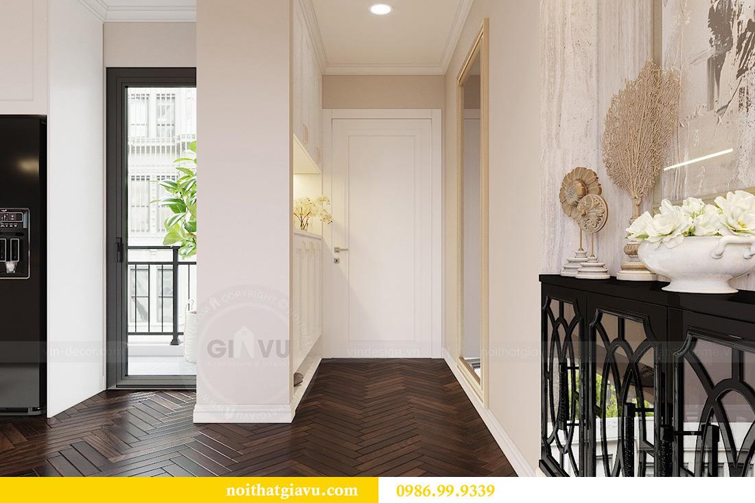 Thiết kế nội thất căn hộ 06 chung cư Dcapitale nhà chị Linh 1