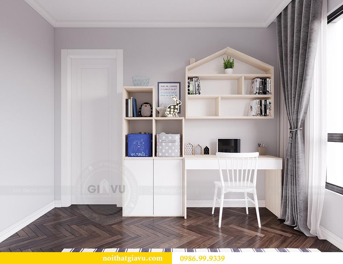 Thiết kế nội thất căn hộ 06 chung cư Dcapitale nhà chị Linh 12