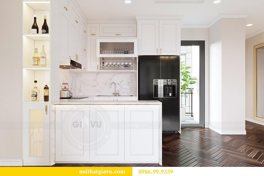 Thiết kế nội thất căn hộ 06 chung cư Dcapitale nhà chị Linh 3