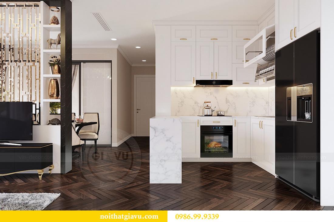 Thiết kế nội thất căn hộ 06 chung cư Dcapitale nhà chị Linh 4