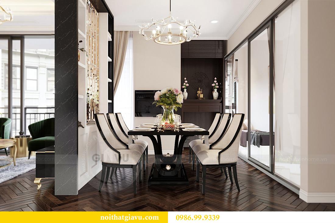 Thiết kế nội thất căn hộ 06 chung cư Dcapitale nhà chị Linh 5