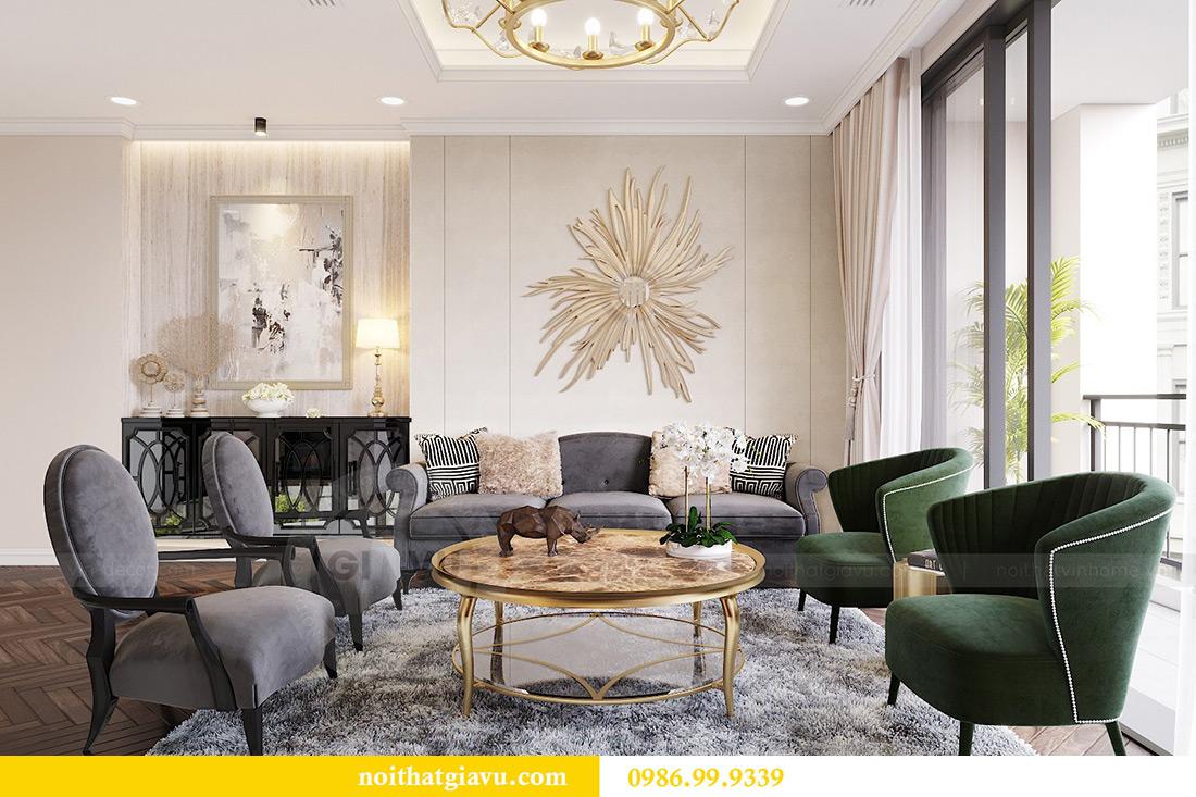 Thiết kế nội thất căn hộ 06 chung cư Dcapitale nhà chị Linh 6