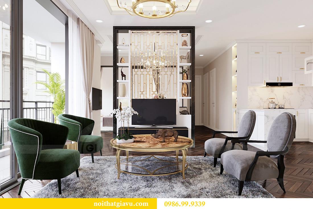 Thiết kế nội thất căn hộ 06 chung cư Dcapitale nhà chị Linh 7