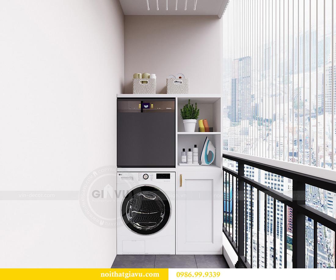 Thiết kế nội thất căn hộ 06 chung cư Dcapitale nhà chị Linh 8