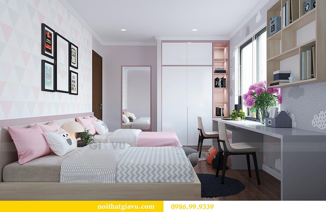 Thiết kế nội thất căn hộ Vinhomes Green Bay Mễ Trì sang trọng, đẳng cấp 12