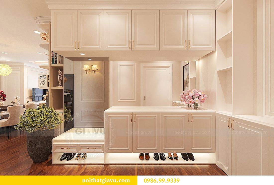 Thiết kế nội thất căn hộ Vinhomes Green Bay Mễ Trì sang trọng, đẳng cấp 2