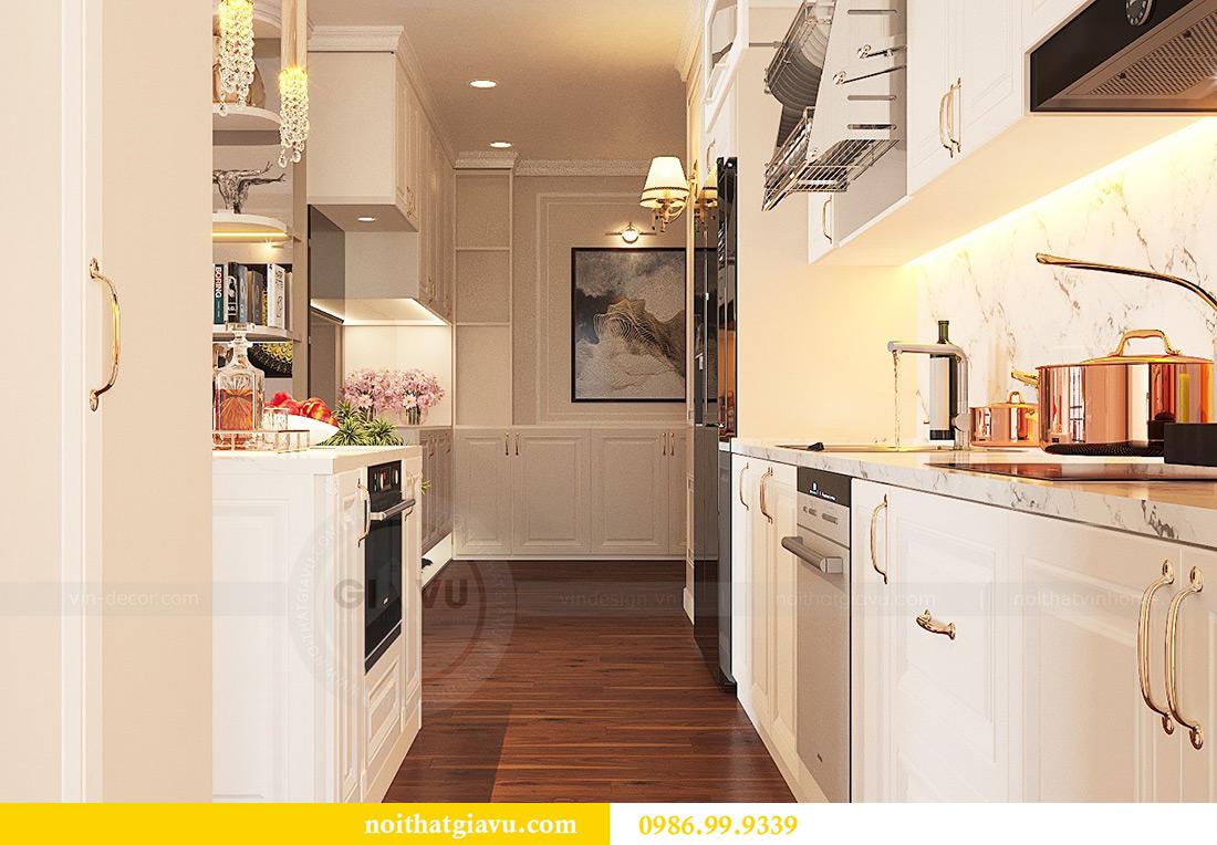 Thiết kế nội thất căn hộ Vinhomes Green Bay Mễ Trì sang trọng, đẳng cấp 4