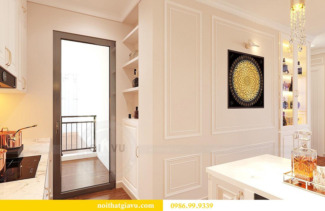 Thiết kế nội thất căn hộ Vinhomes Green Bay Mễ Trì sang trọng, đẳng cấp 5