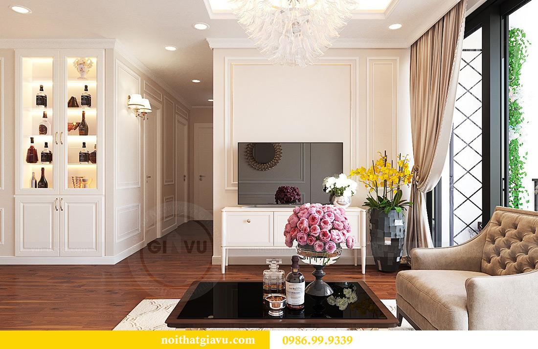 Thiết kế nội thất căn hộ Vinhomes Green Bay Mễ Trì sang trọng, đẳng cấp 8