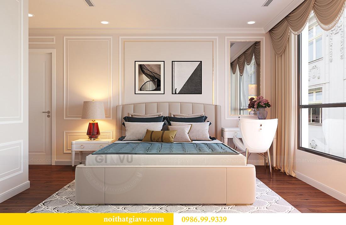 Thiết kế nội thất căn hộ Vinhomes Green Bay Mễ Trì sang trọng, đẳng cấp 9