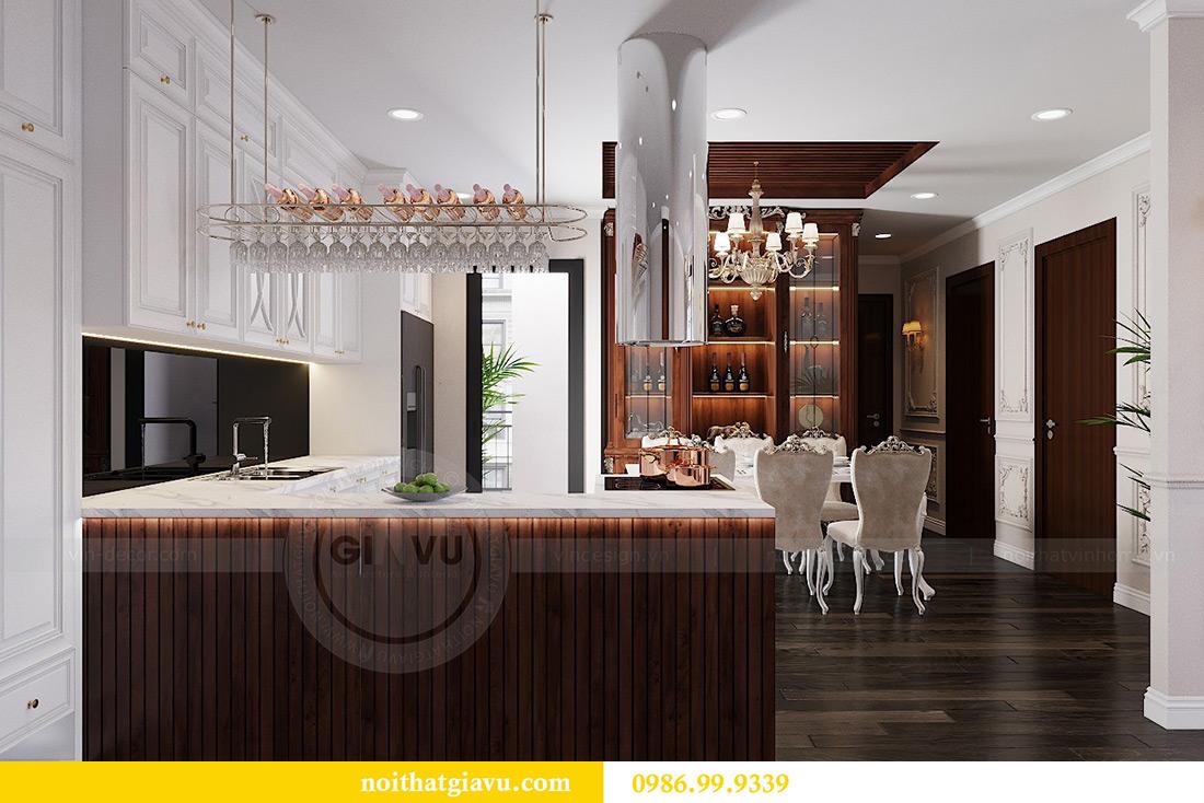 Thiết kế nội thất Vinhomes Green Bay căn 3 ngủ - Chị Hằng 1