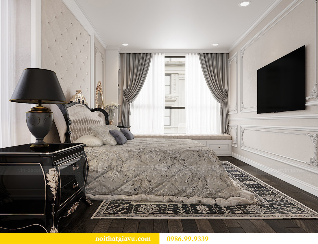 Thiết kế nội thất Vinhomes Green Bay căn 3 ngủ - Chị Hằng 6