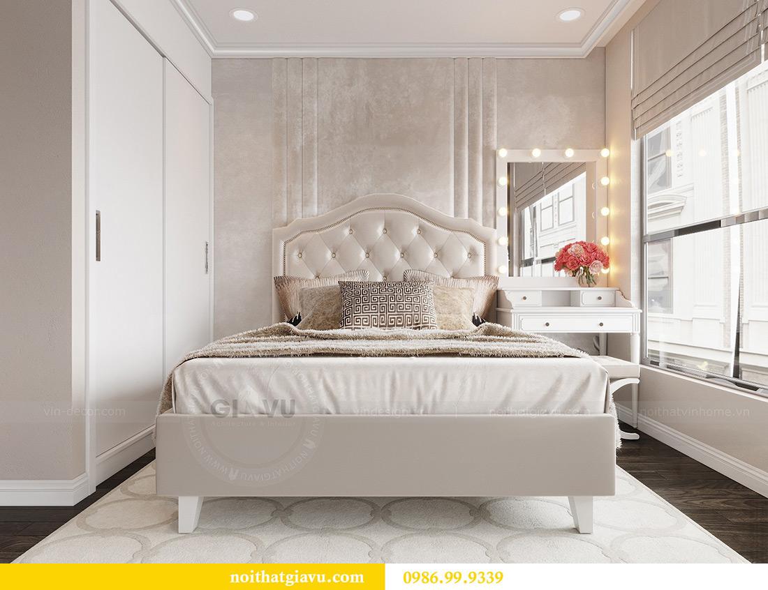 Thiết kế nội thất Vinhomes Green Bay căn 3 ngủ - Chị Hằng 7