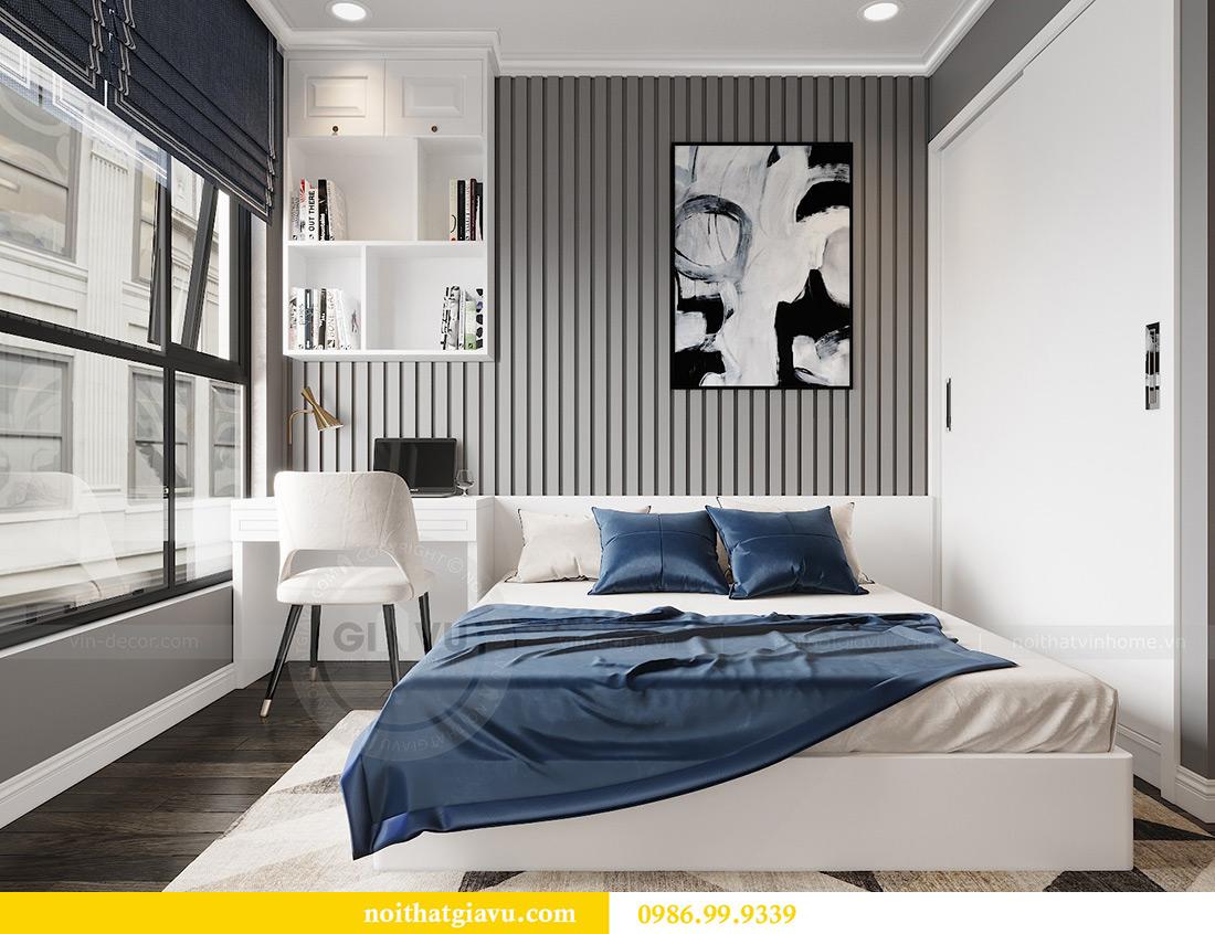Thiết kế nội thất Vinhomes Green Bay căn 3 ngủ - Chị Hằng 9