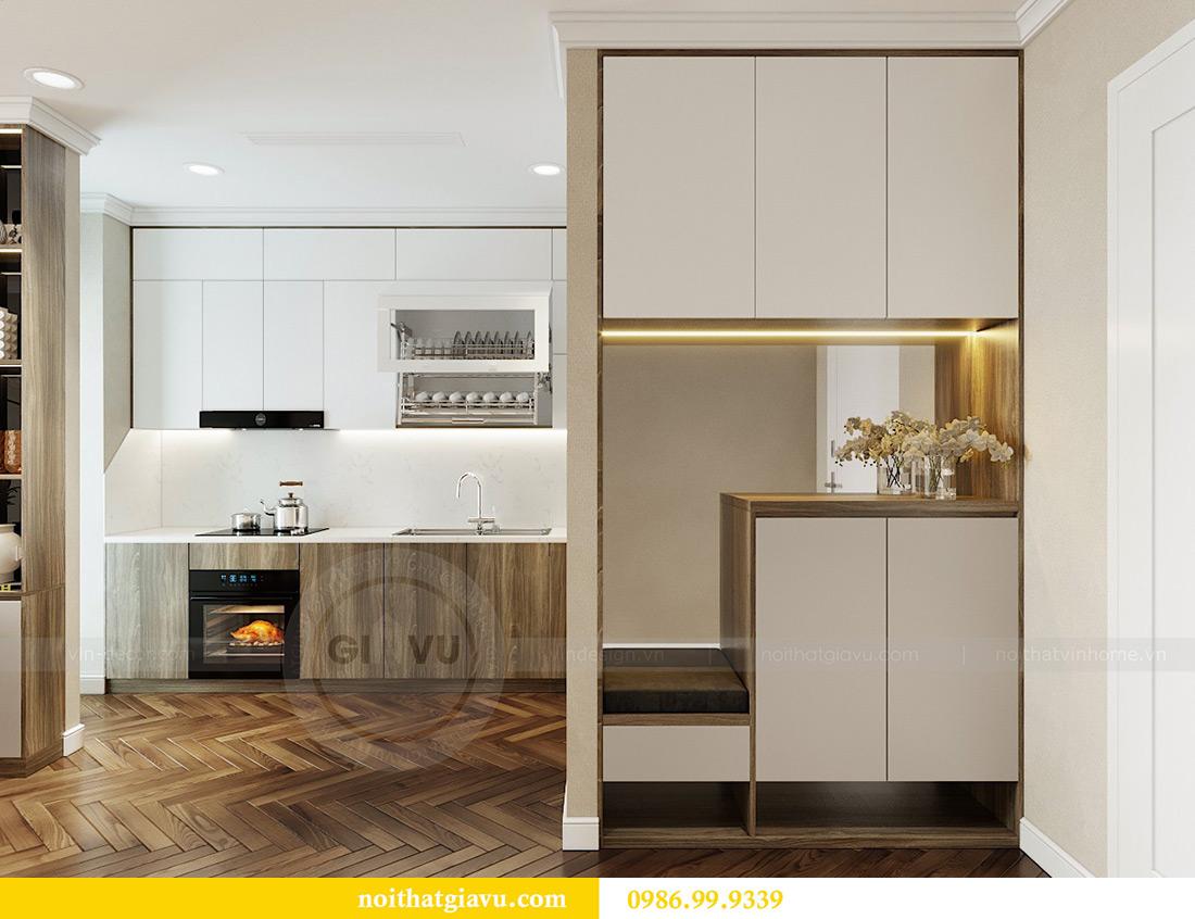 Thiết kế thi công nội thất chung cư Vinhomes Metropolis căn 07 tòa M3 1