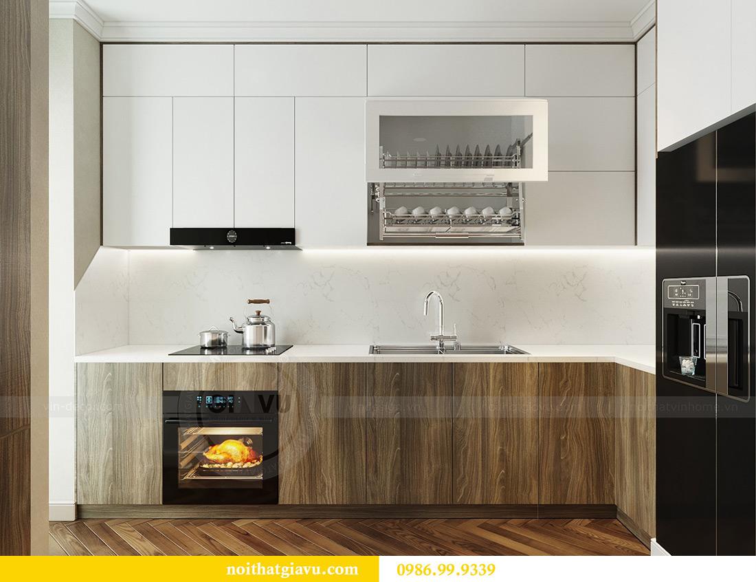 Thiết kế thi công nội thất chung cư Vinhomes Metropolis căn 07 tòa M3 2