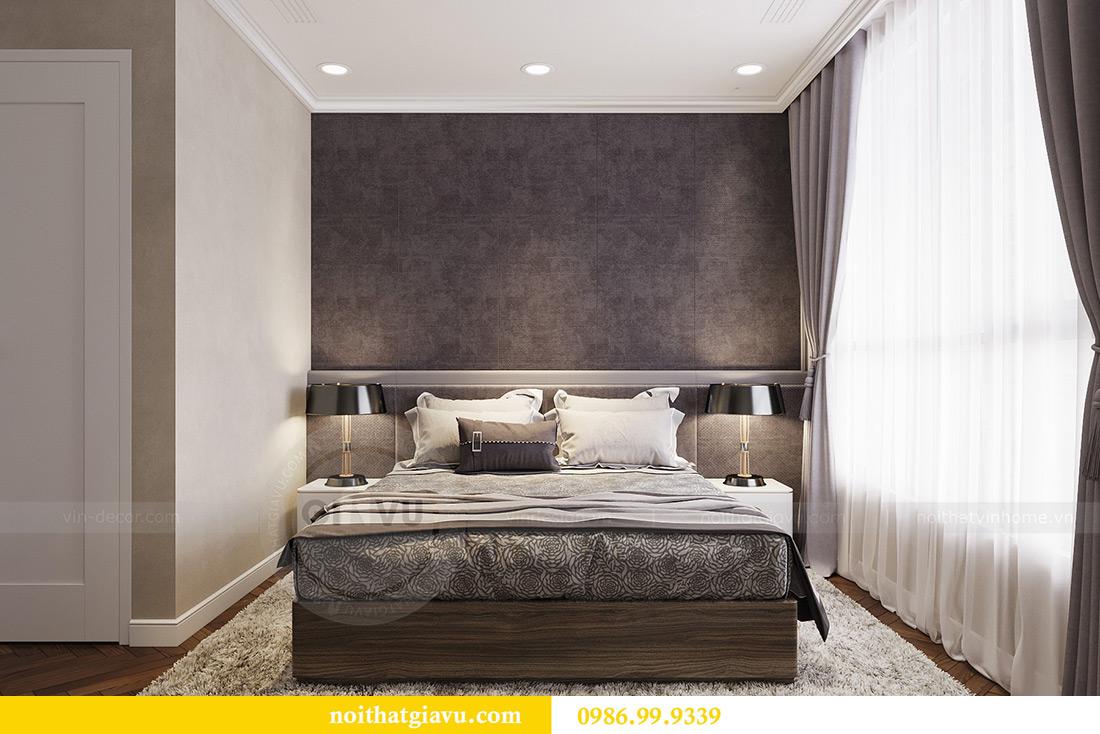 Thiết kế thi công nội thất chung cư Vinhomes Metropolis căn 07 tòa M3 6