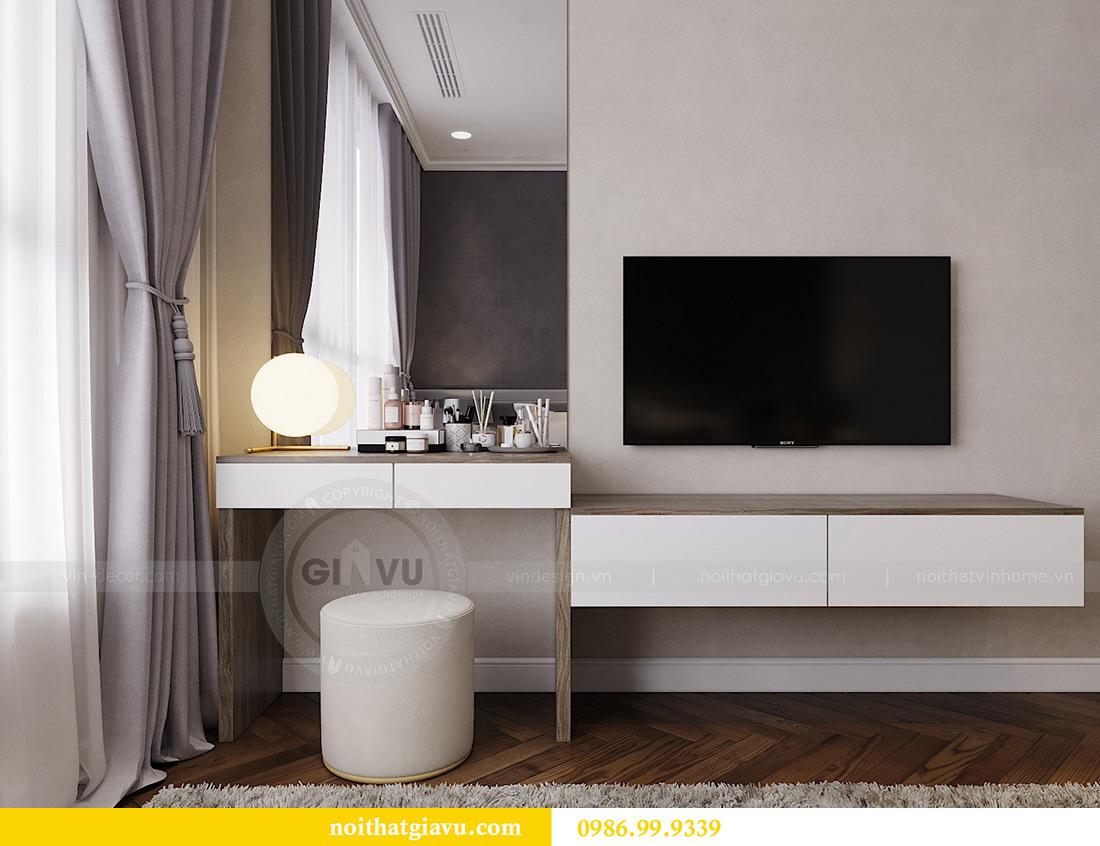 Thiết kế thi công nội thất chung cư Vinhomes Metropolis căn 07 tòa M3 7