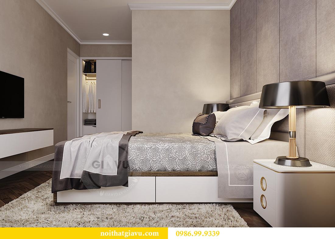 Thiết kế thi công nội thất chung cư Vinhomes Metropolis căn 07 tòa M3 8