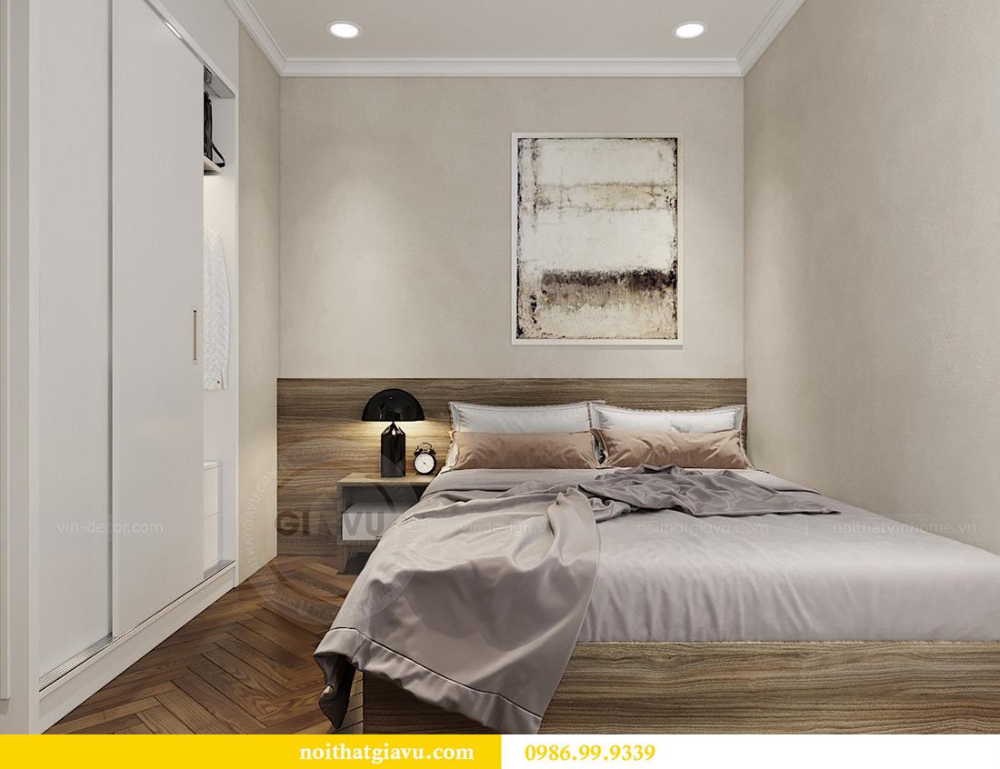 Thiết kế thi công nội thất chung cư Vinhomes Metropolis căn 07 tòa M3 9