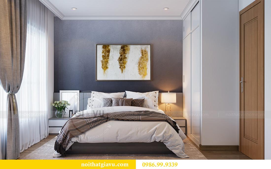 Mẫu thiết kế nội thất chung cư Sky Lake căn 2 ngủ đẹp hiện đại 7
