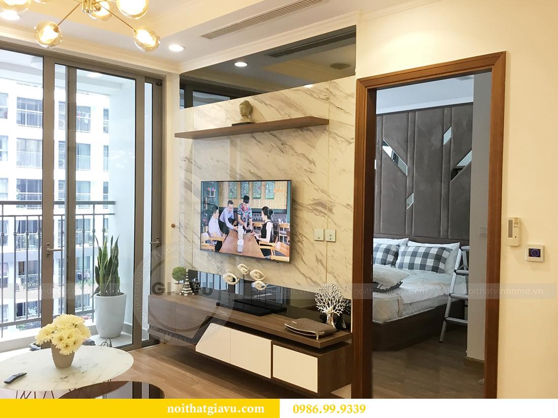 Thi công hoàn thiện nội thất căn hộ 2 phòng ngủ tại Times City Anh Sơn 10