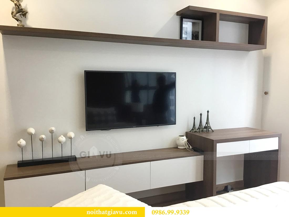Thi công hoàn thiện nội thất căn hộ 2 phòng ngủ tại Times City Anh Sơn 12