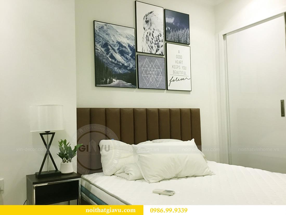 Thi công hoàn thiện nội thất căn hộ 2 phòng ngủ tại Times City Anh Sơn 13