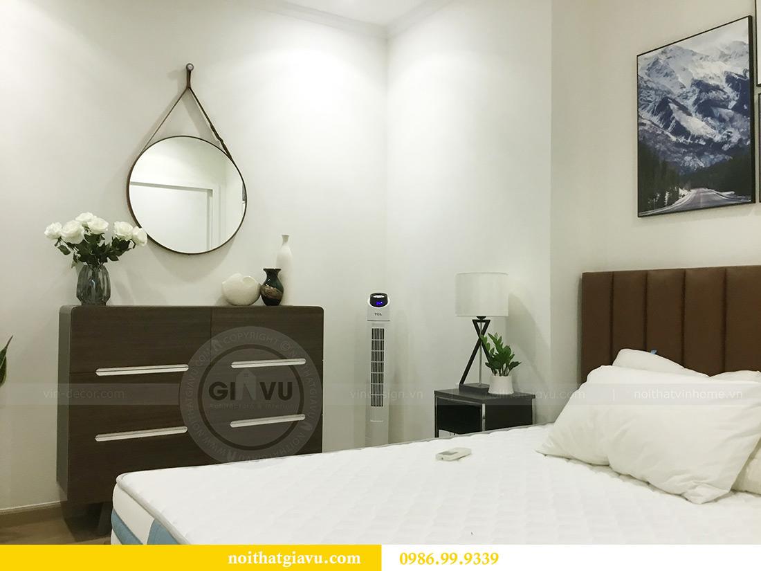 Thi công hoàn thiện nội thất căn hộ 2 phòng ngủ tại Times City Anh Sơn 14