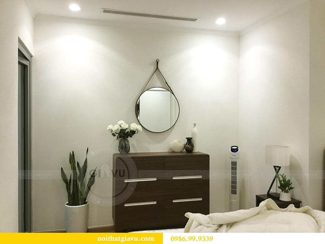 Thi công hoàn thiện nội thất căn hộ 2 phòng ngủ tại Times City Anh Sơn 15