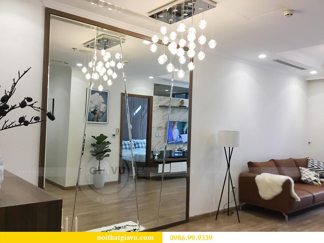 Thi công hoàn thiện nội thất căn hộ 2 phòng ngủ tại Times City Anh Sơn 3