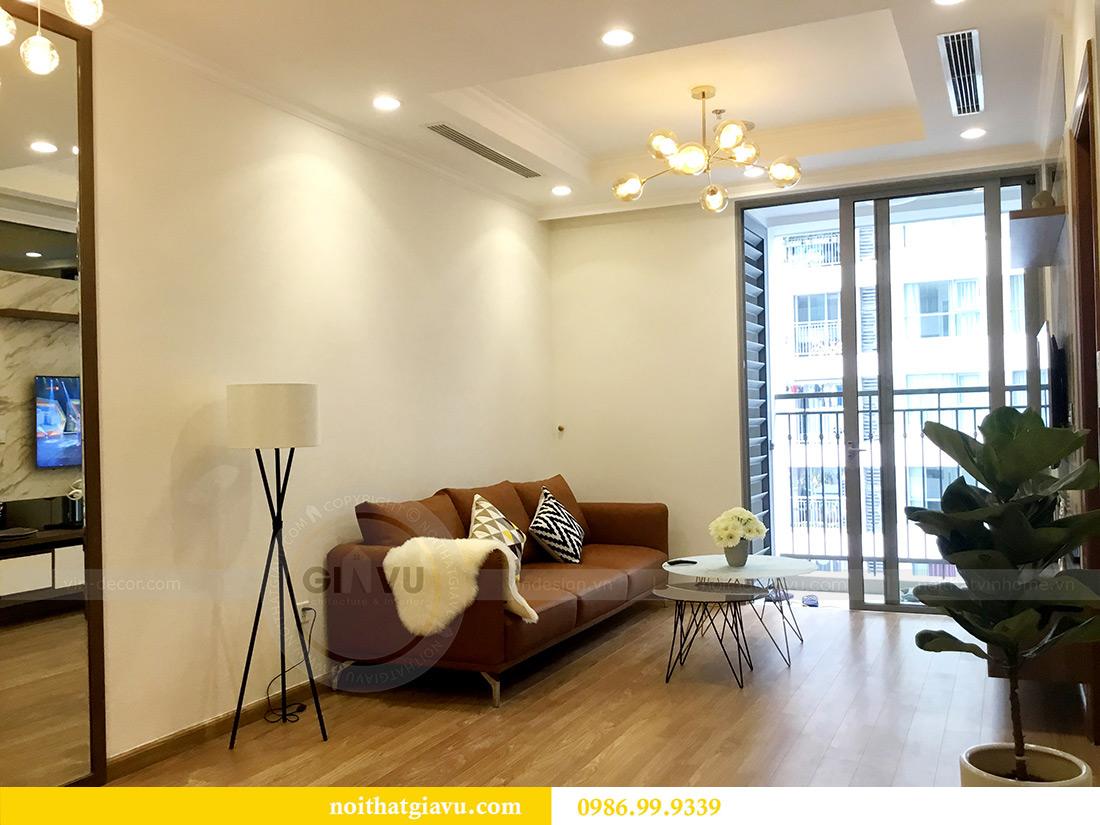 Thi công hoàn thiện nội thất căn hộ 2 phòng ngủ tại Times City Anh Sơn 4