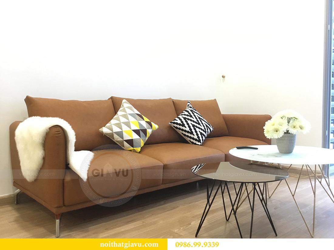 Thi công hoàn thiện nội thất căn hộ 2 phòng ngủ tại Times City Anh Sơn 5