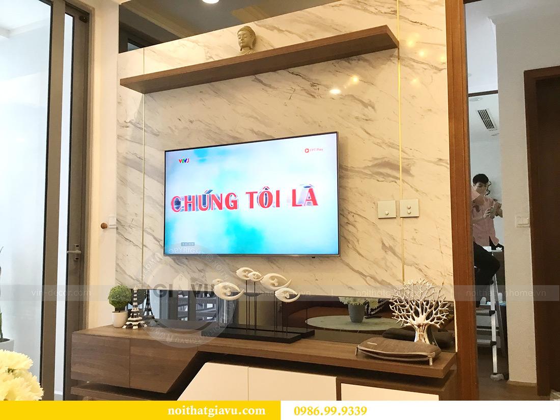 Thi công hoàn thiện nội thất căn hộ 2 phòng ngủ tại Times City Anh Sơn 6