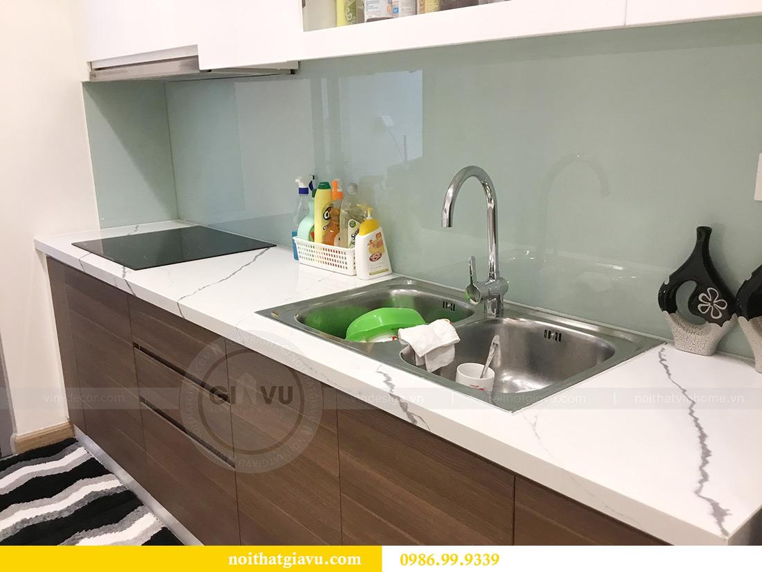 Thi công hoàn thiện nội thất căn hộ 2 phòng ngủ tại Times City Anh Sơn 9