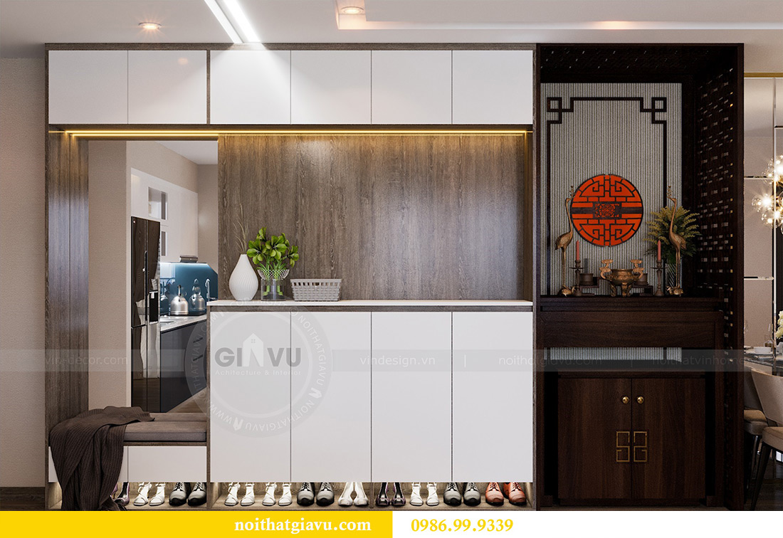 Thiết kế nội thất Vinhomes Liễu Giai tòa M1 căn 01 - Chị Trang 1