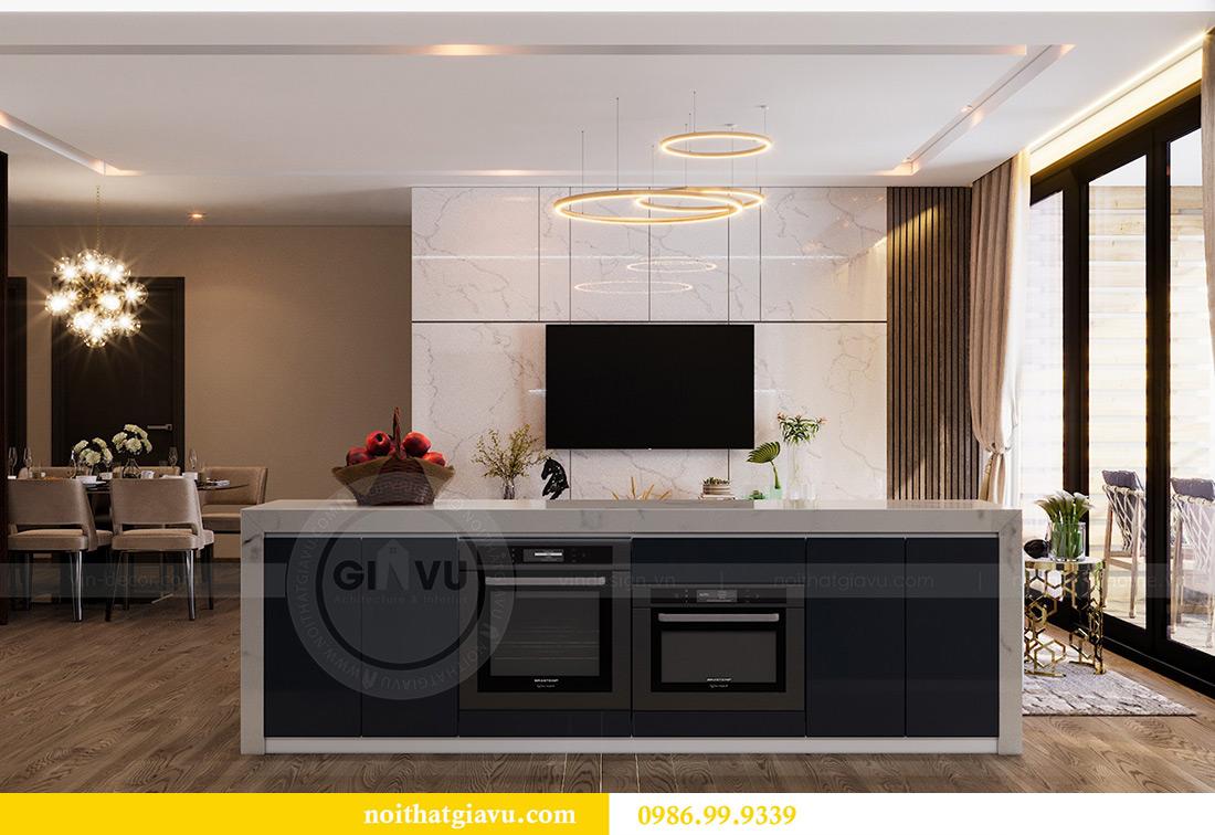 Thiết kế nội thất Vinhomes Liễu Giai tòa M1 căn 01 - Chị Trang 3