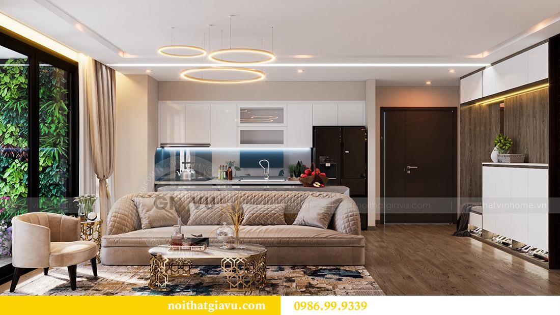 Thiết kế nội thất Vinhomes Liễu Giai tòa M1 căn 01 - Chị Trang 4