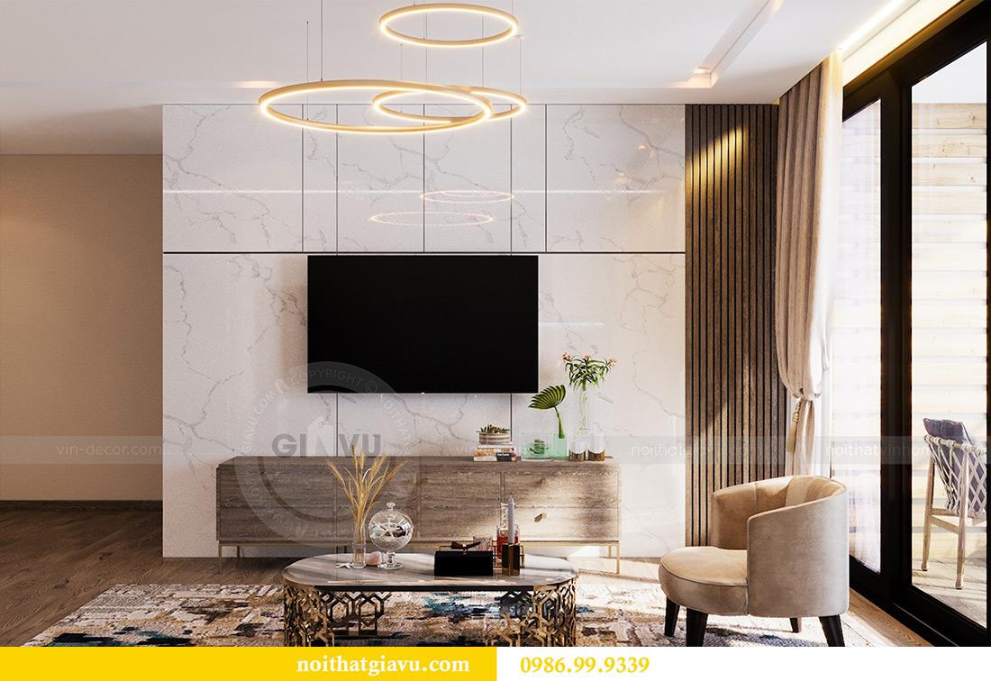 Thiết kế nội thất Vinhomes Liễu Giai tòa M1 căn 01 - Chị Trang 5