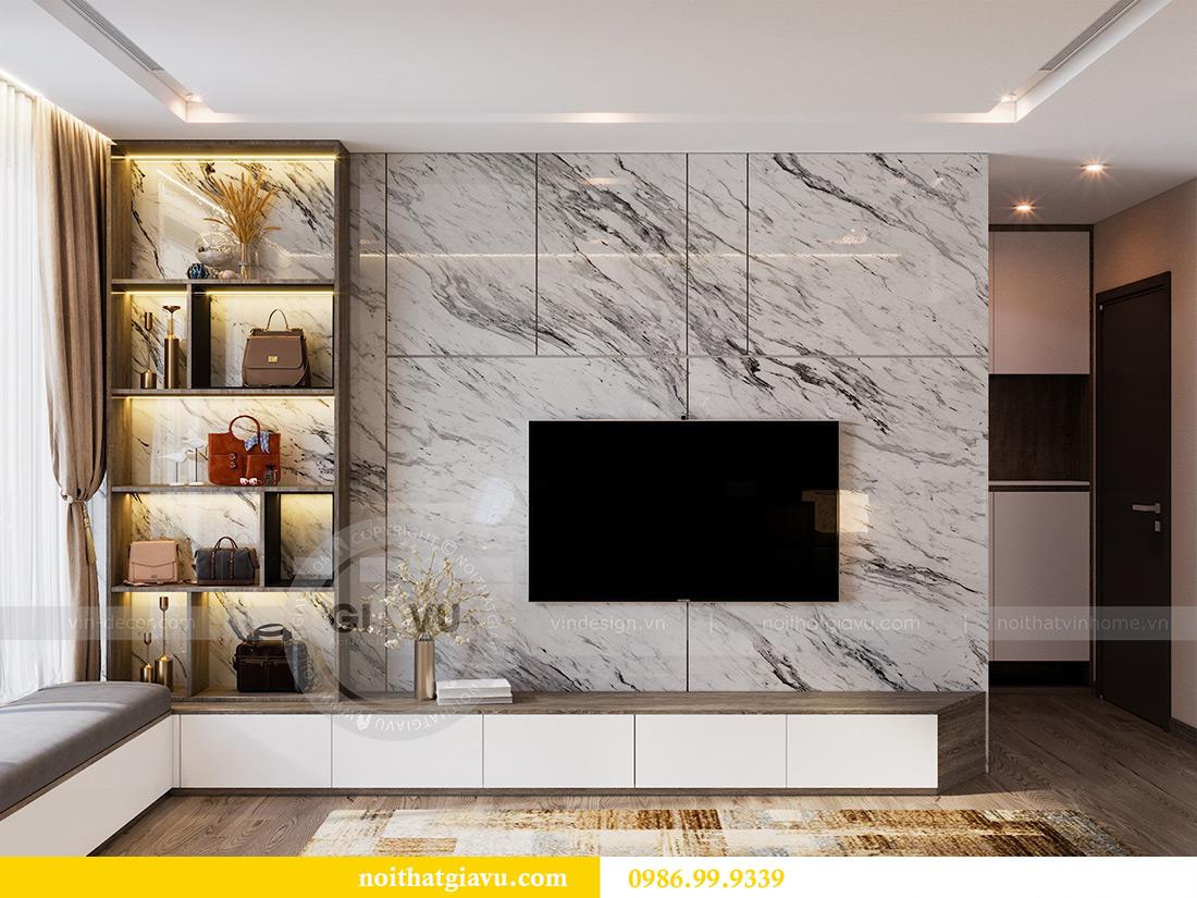 Thiết kế nội thất Vinhomes Liễu Giai tòa M1 căn 01 - Chị Trang 7