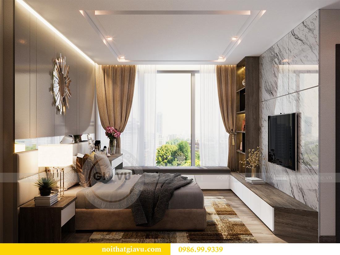 Thiết kế nội thất Vinhomes Liễu Giai tòa M1 căn 01 - Chị Trang 8