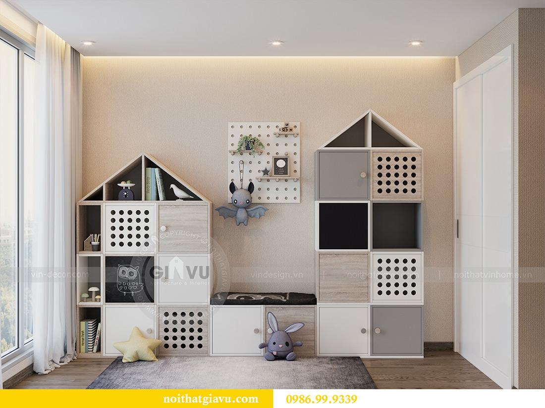 Thiết kế nội thất Vinhomes Liễu Giai tòa M1 căn 01 - Chị Trang 9