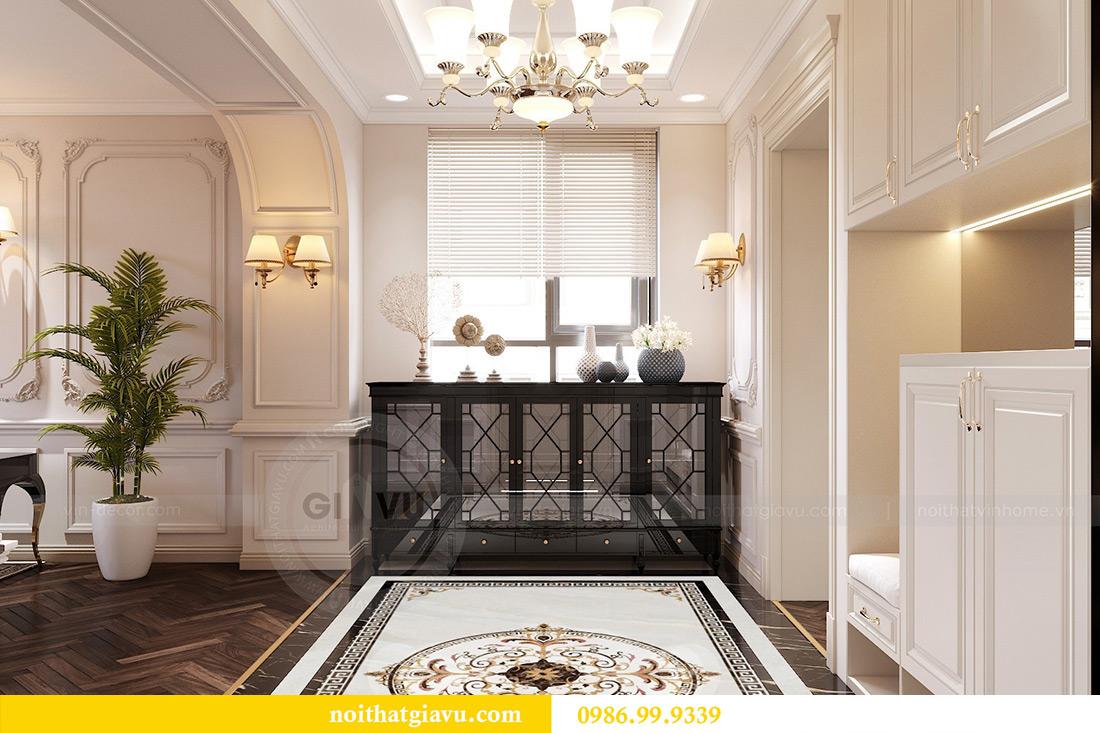 Thiết kế thi công nội thất chung cư Green Bay G1 06-08A nhà chị Lan 1