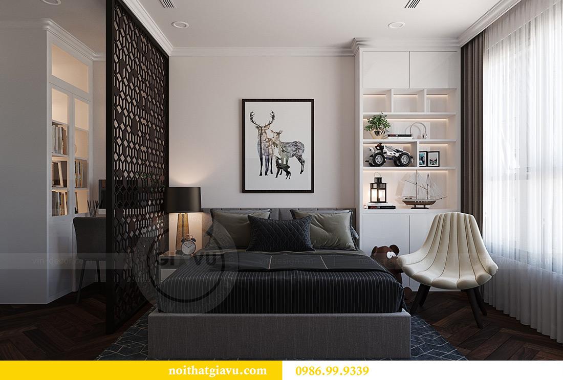 Thiết kế thi công nội thất chung cư Green Bay G1 06-08A nhà chị Lan 10