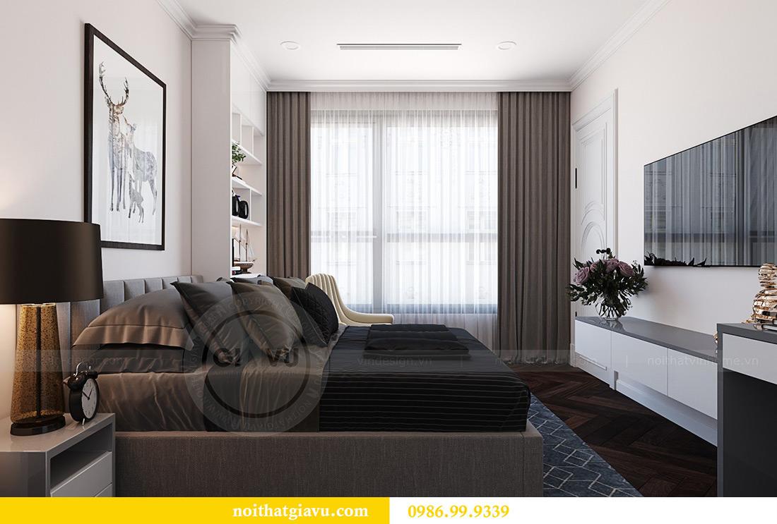 Thiết kế thi công nội thất chung cư Green Bay G1 06-08A nhà chị Lan 12
