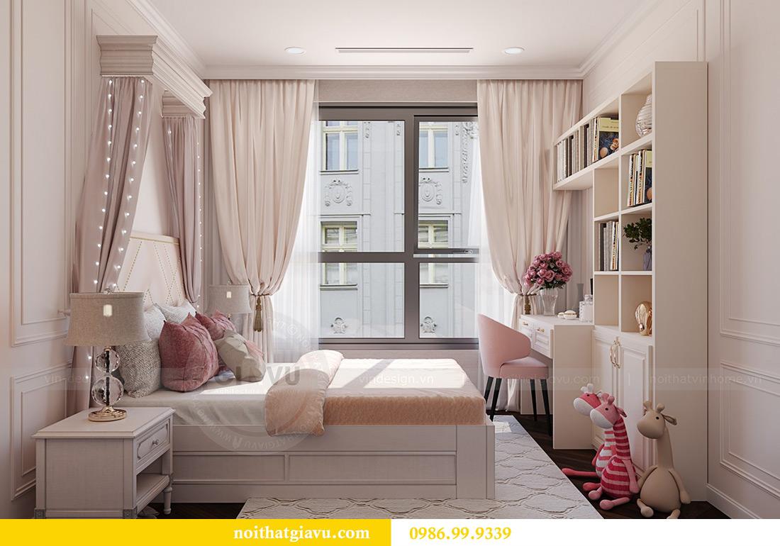 Thiết kế thi công nội thất chung cư Green Bay G1 06-08A nhà chị Lan 13